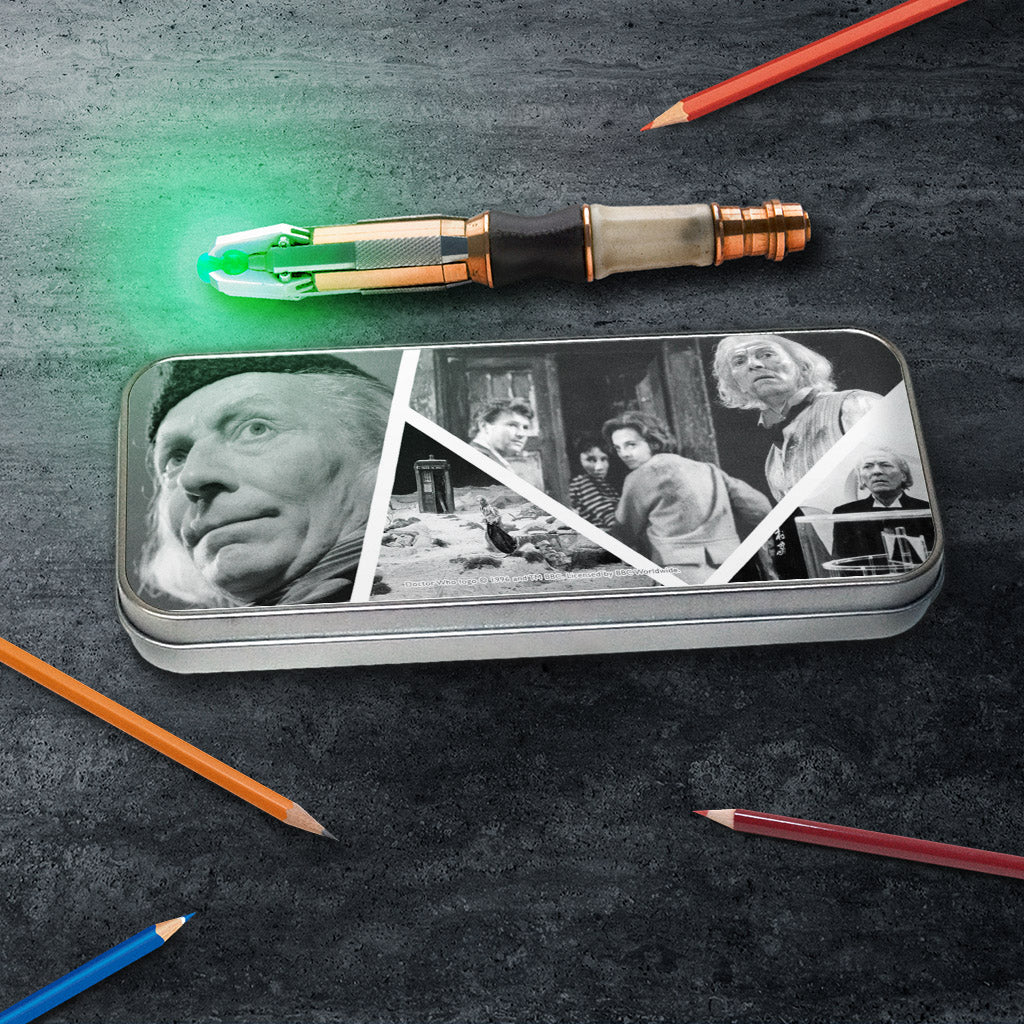 First Doctor Photographic Pencil Tin (Lifestyle)