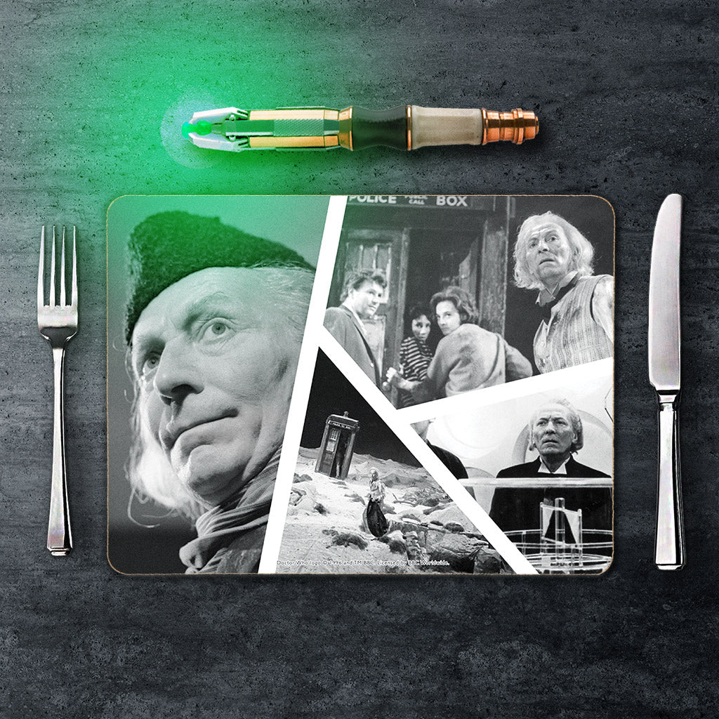 First Doctor Photographic Placemat (Lifestyle)