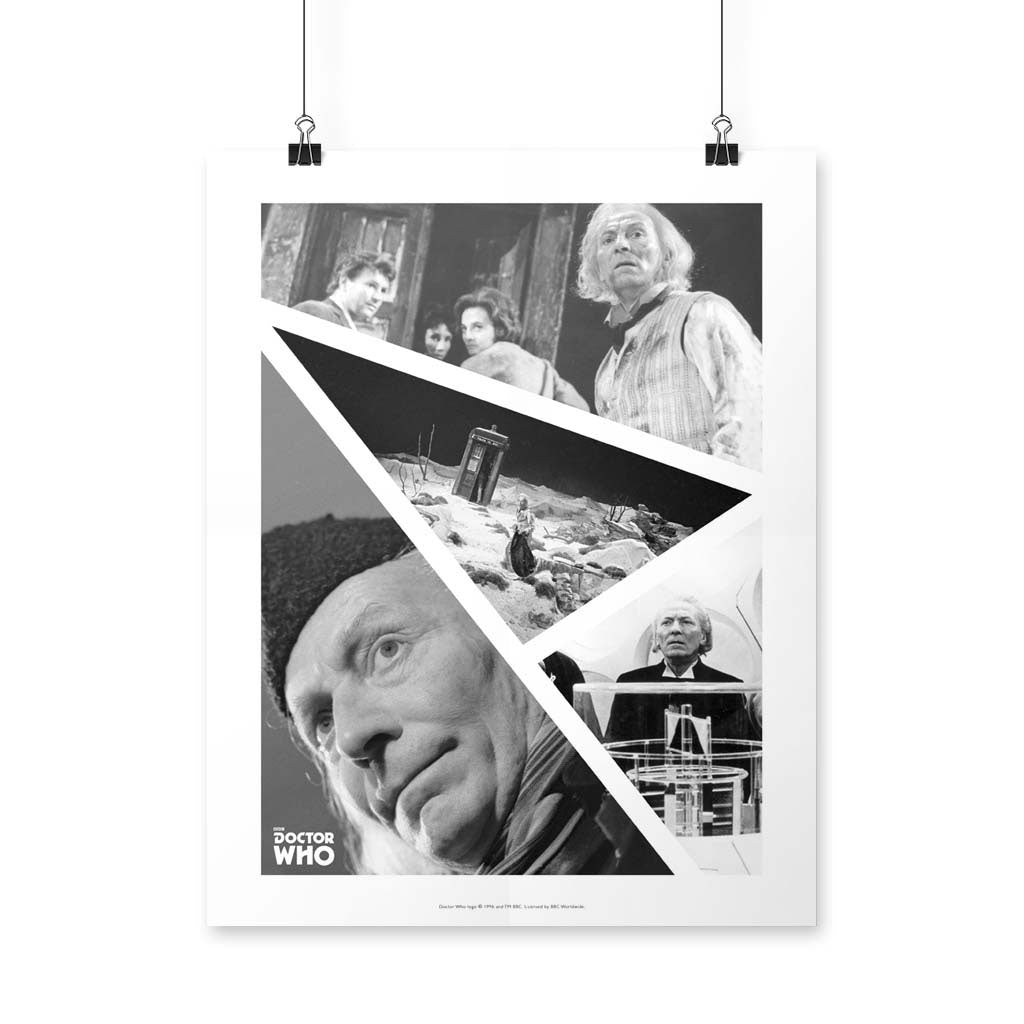 First Doctor Photographic Art Print
