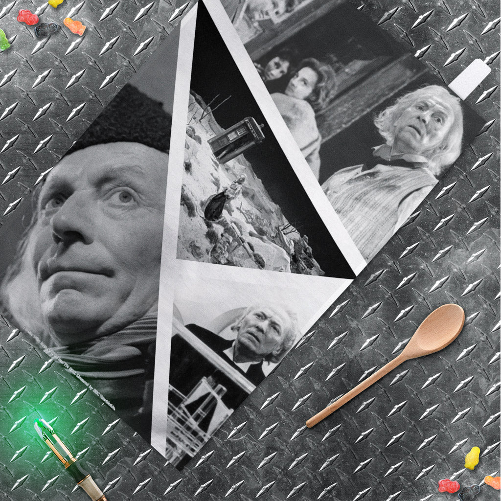 First Doctor Photographic Tea Towel (Lifestyle)