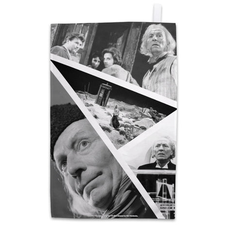 First Doctor Photographic Tea Towel