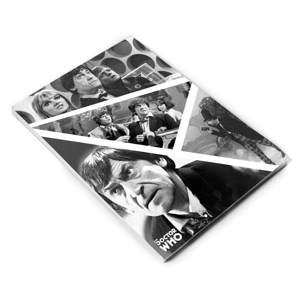 Second Doctor Photographic A5 Notepad