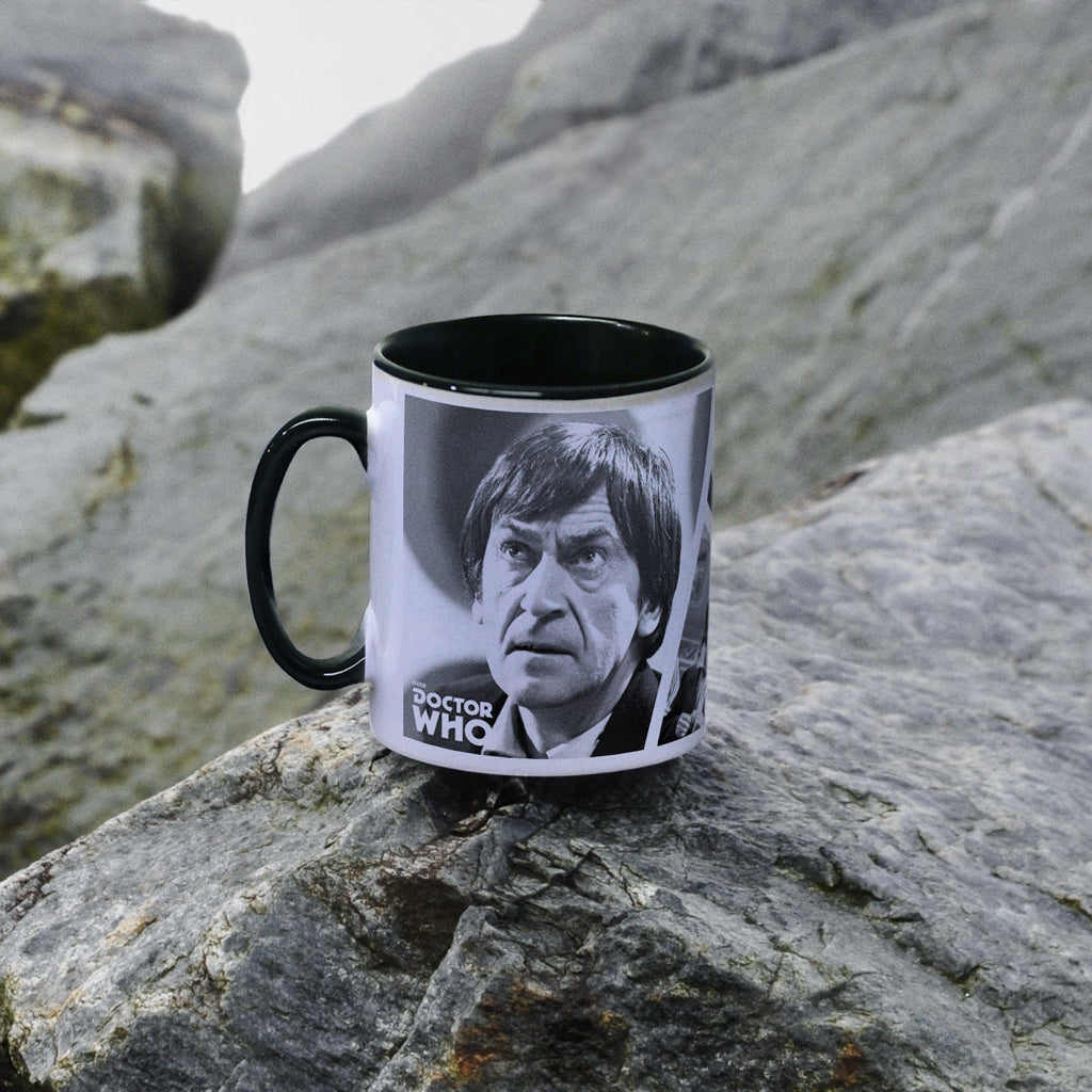 Second Doctor Photographic Colour Insert Mug (Lifestyle)