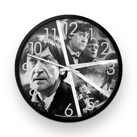 Second Doctor Photographic Clock