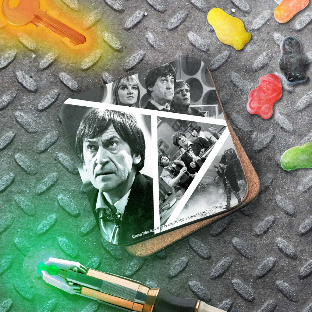 Second Doctor Photographic Coaster (Lifestyle)