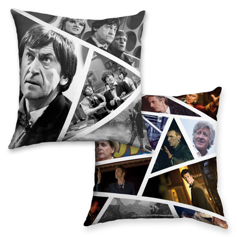 Second Doctor Photographic Cushion