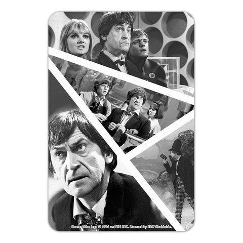 Second Doctor Photographic Door Plaque