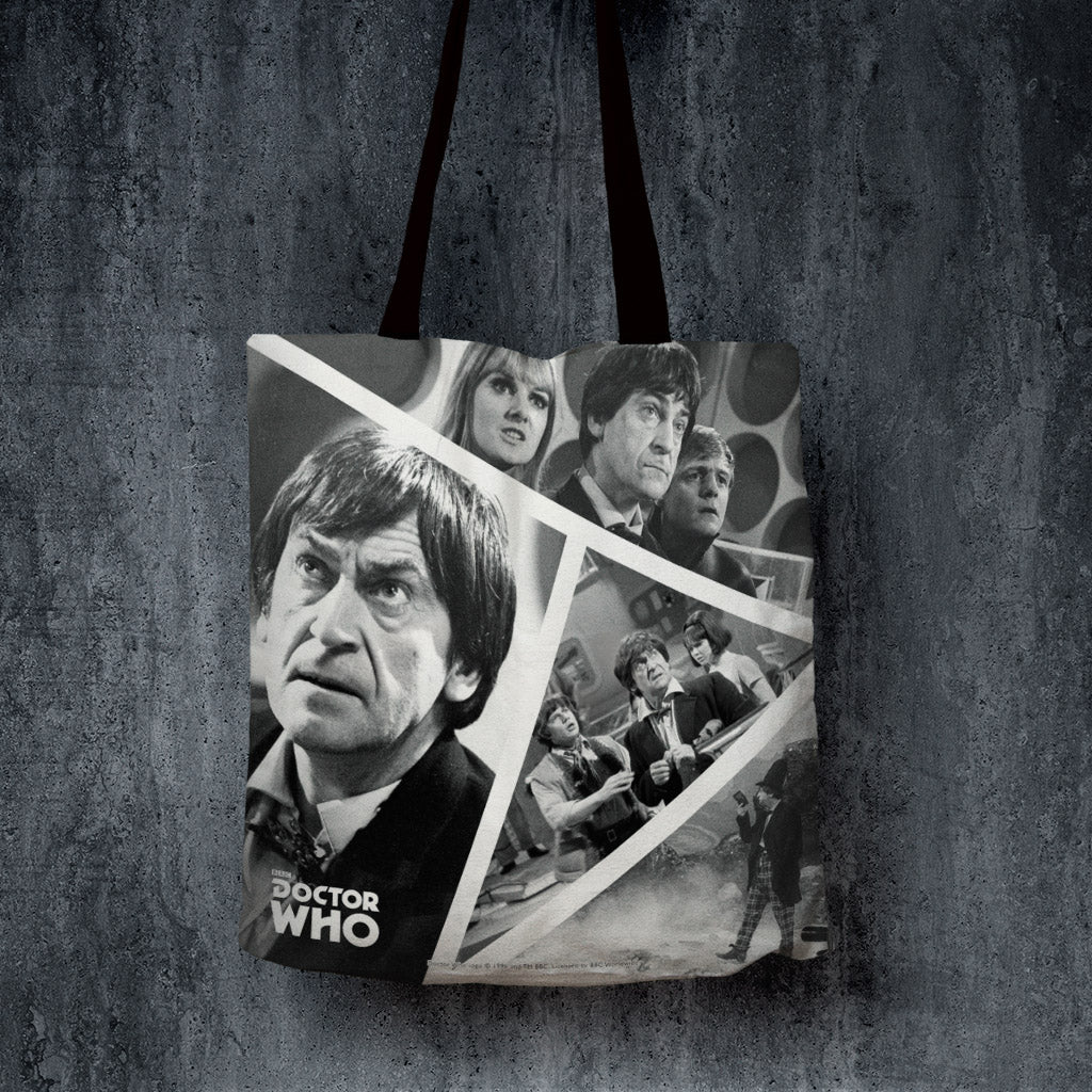 Second Doctor Photographic Edge to Edge Tote (Lifestyle)