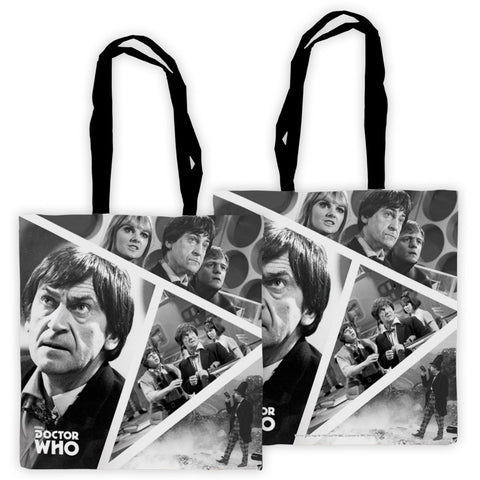 Second Doctor Photographic Edge to Edge Tote