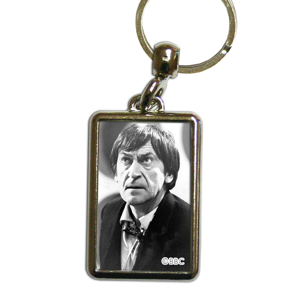 Second Doctor Photographic Metal Keyring
