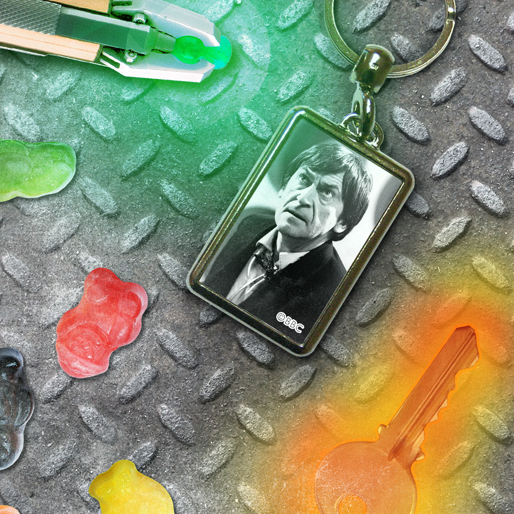 Second Doctor Photographic Metal Keyring (Lifestyle)