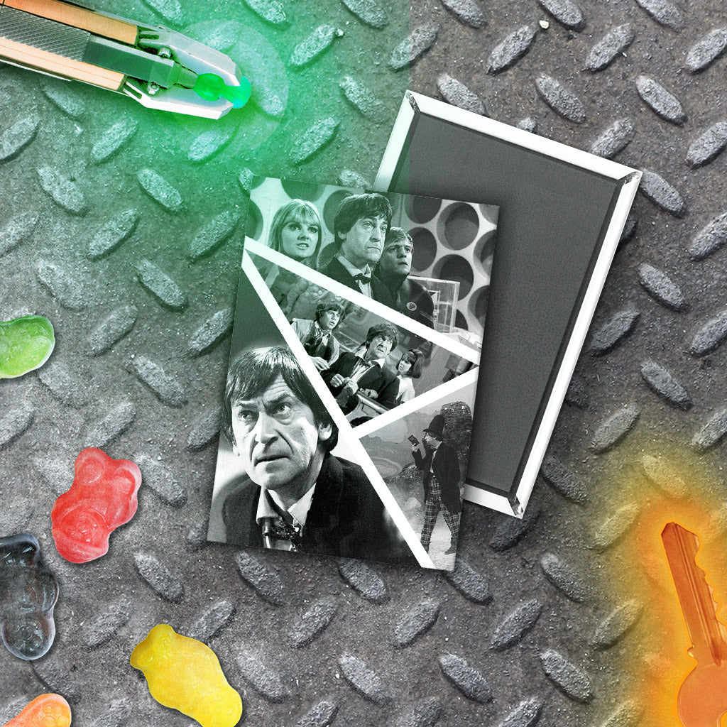 Second Doctor Photographic Magnet (Lifestyle)