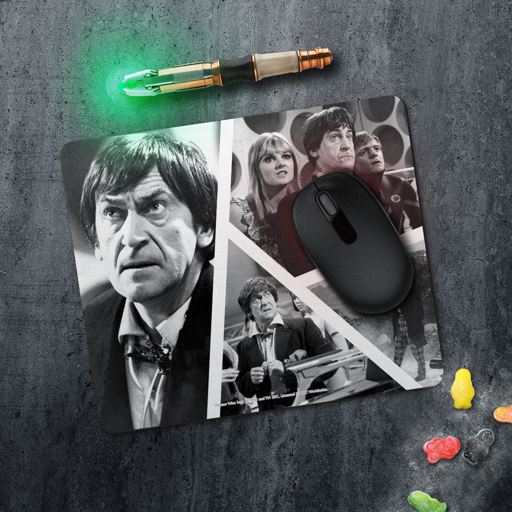 Second Doctor Photographic Mousemat (Lifestyle)