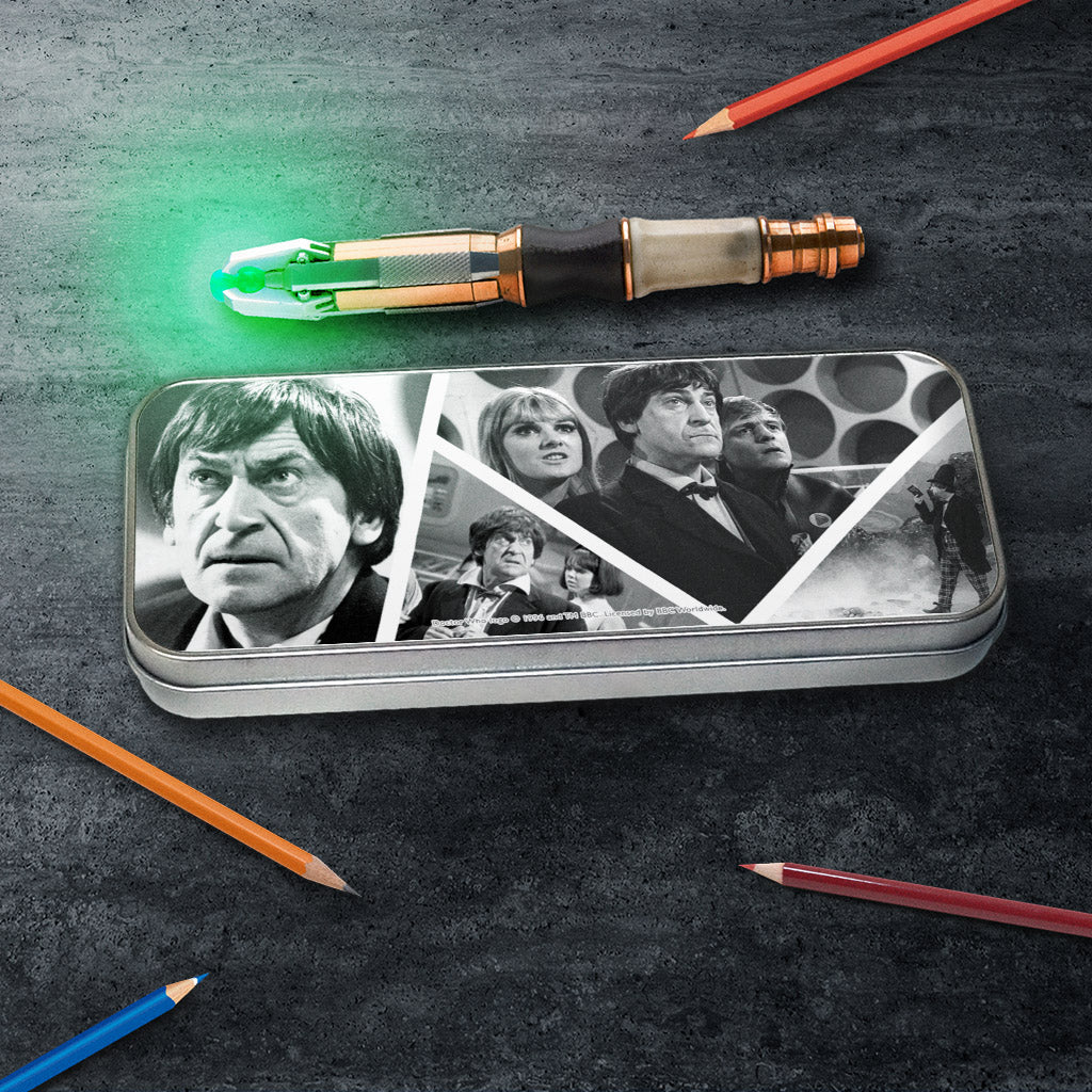Second Doctor Photographic Pencil Tin (Lifestyle)