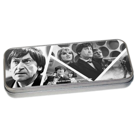 Second Doctor Photographic Pencil Tin