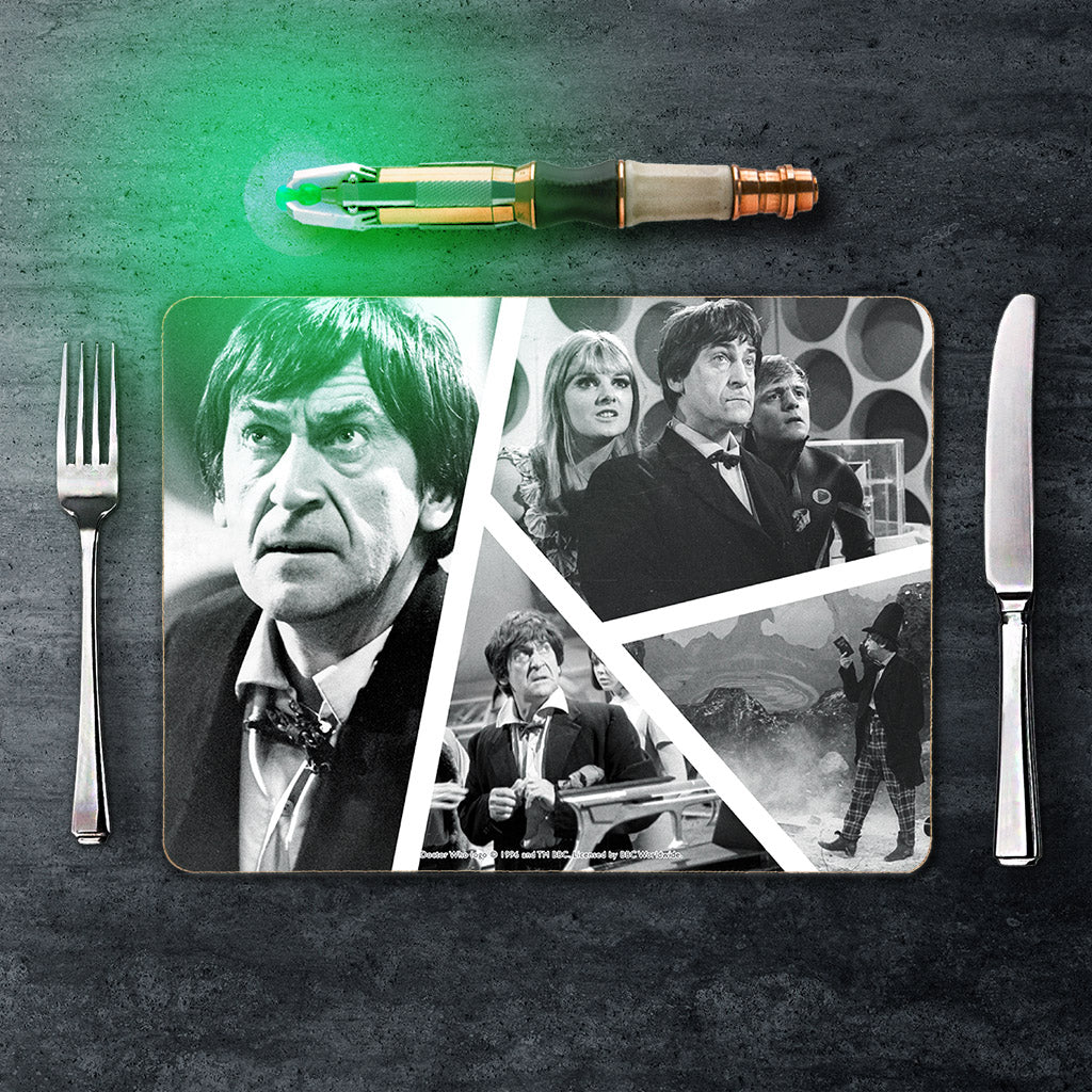 Second Doctor Photographic Placemat (Lifestyle)