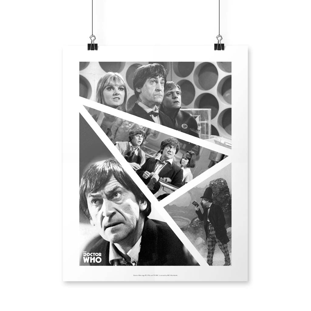 Second Doctor Photographic Art Print