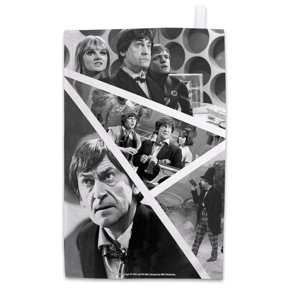 Second Doctor Photographic Tea Towel