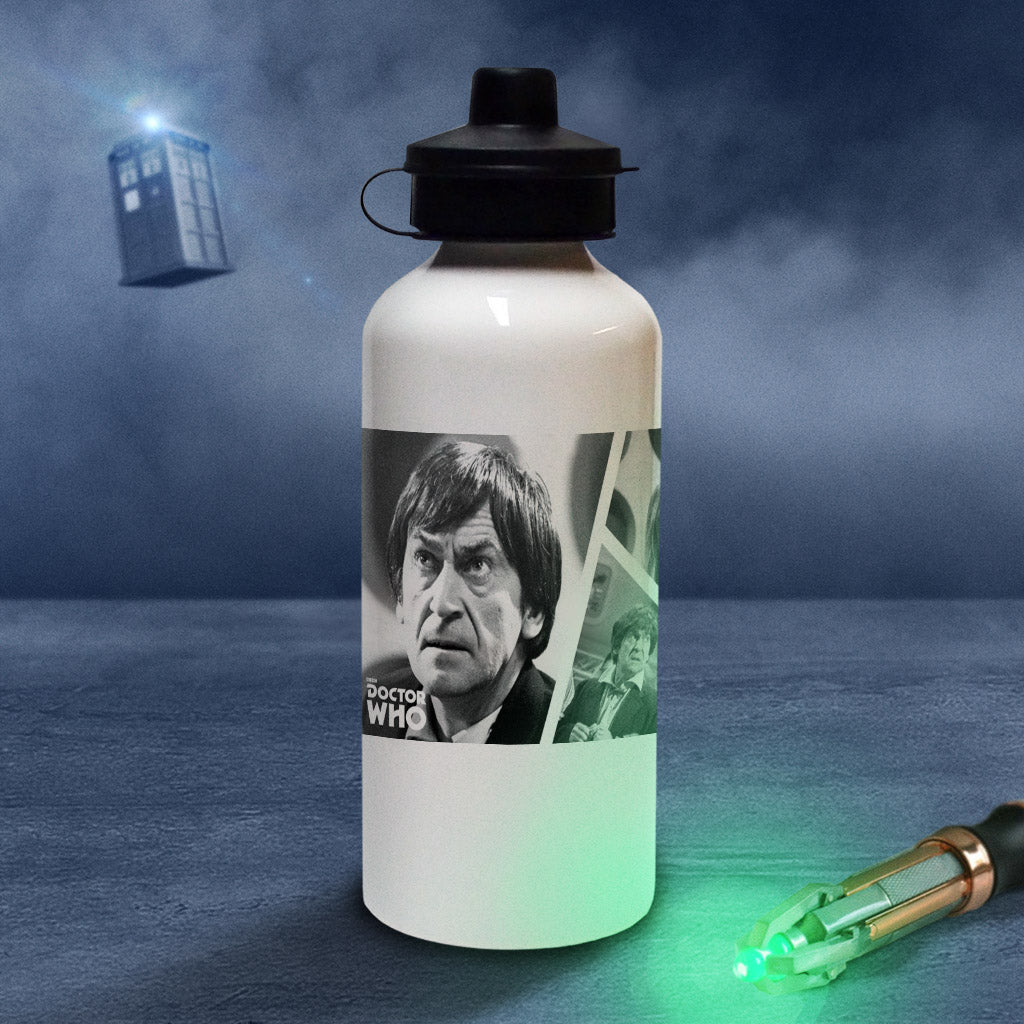 Second Doctor Photographic Water Bottle (Lifestyle)