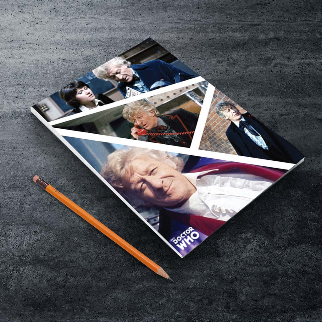 Third Doctor Photographic A5 Notepad (Lifestyle)