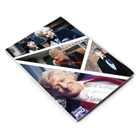 Third Doctor Photographic A5 Notepad