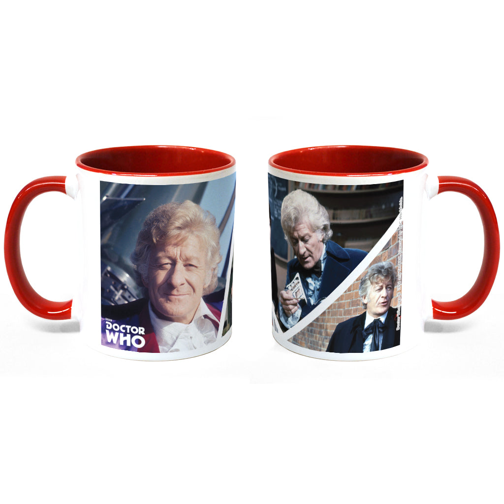 Third Doctor Photographic Colour Insert Mug