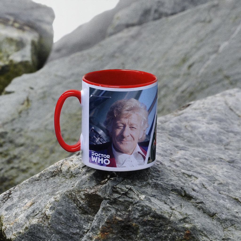 Third Doctor Photographic Colour Insert Mug (Lifestyle)
