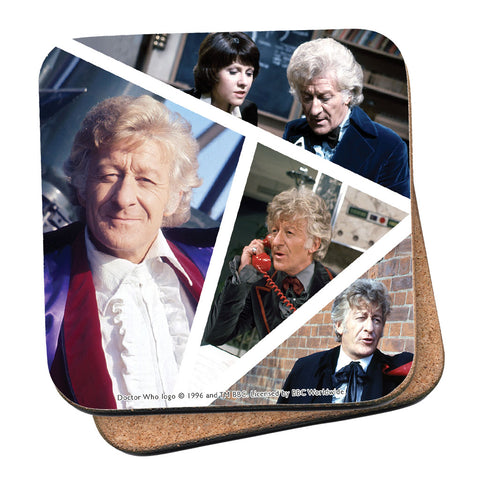 Third Doctor Photographic Coaster