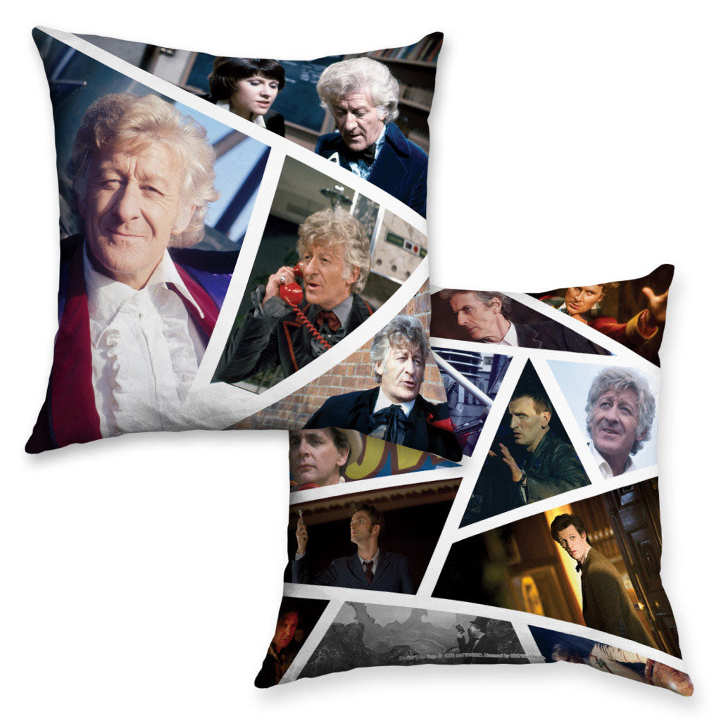Third Doctor Photographic Cushion