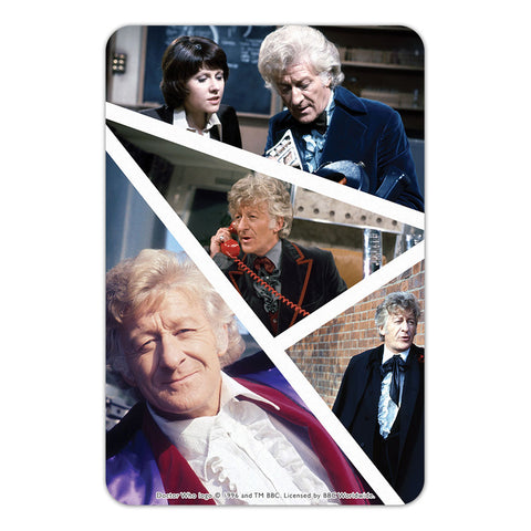 Third Doctor Photographic Door Plaque