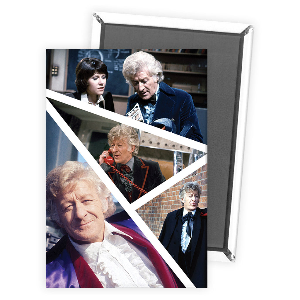 Third Doctor Photographic Magnet
