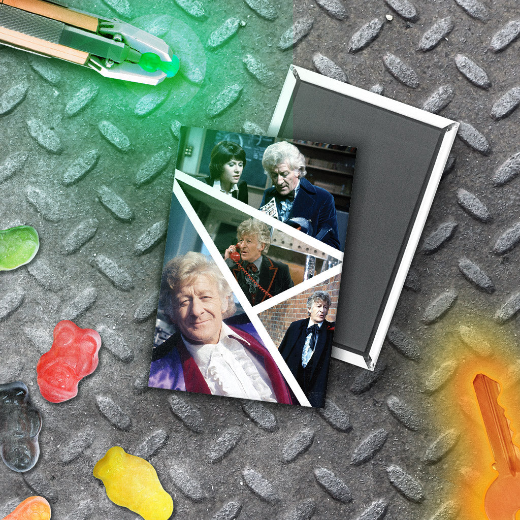 Third Doctor Photographic Magnet (Lifestyle)