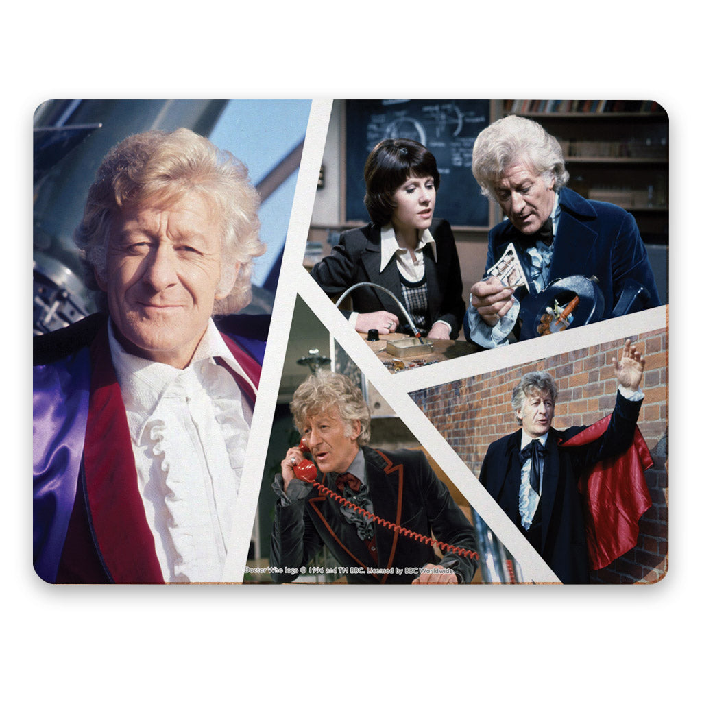 Third Doctor Photographic Placemat