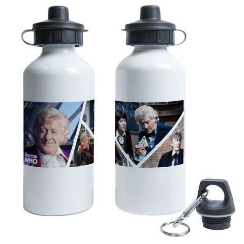 Third Doctor Photographic Water Bottle