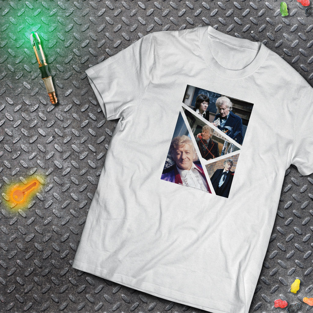 Third Doctor Photographic T-Shirt