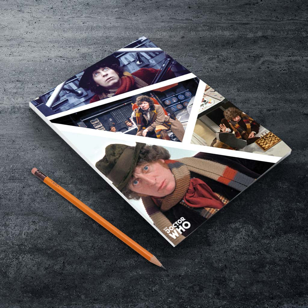 Fourth Doctor Photographic A5 Notepad (Lifestyle)