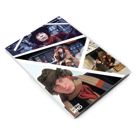 Fourth Doctor Photographic A5 Notepad