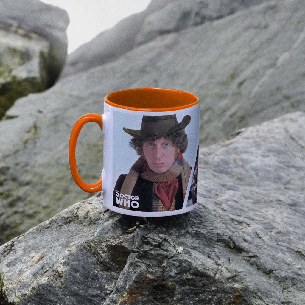 Fourth Doctor Photographic Colour Insert Mug (Lifestyle)