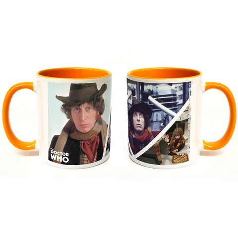 Fourth Doctor Photographic Colour Insert Mug