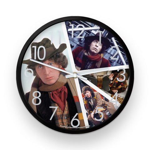Fourth Doctor Photographic Clock