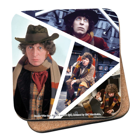 Fourth Doctor Photographic Coaster