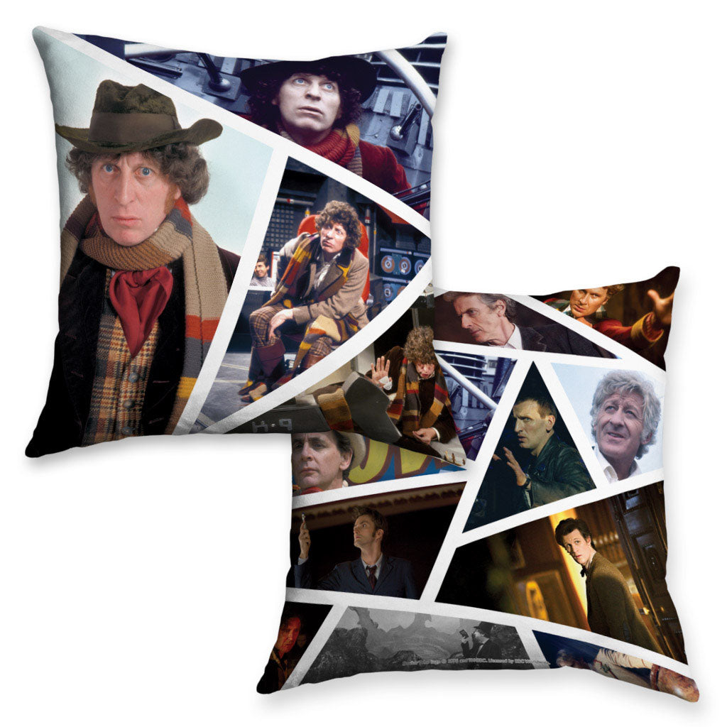 Fourth Doctor Photographic Cushion