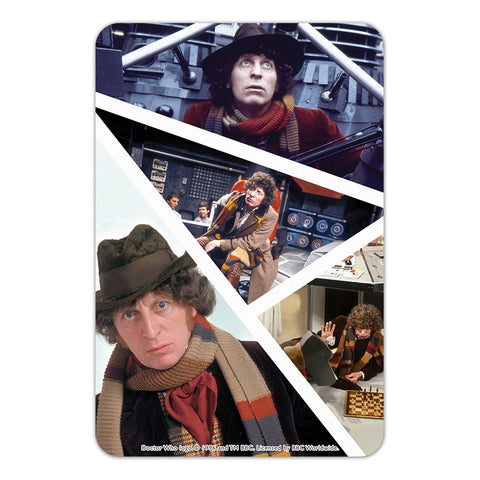 Fourth Doctor Photographic Door Plaque