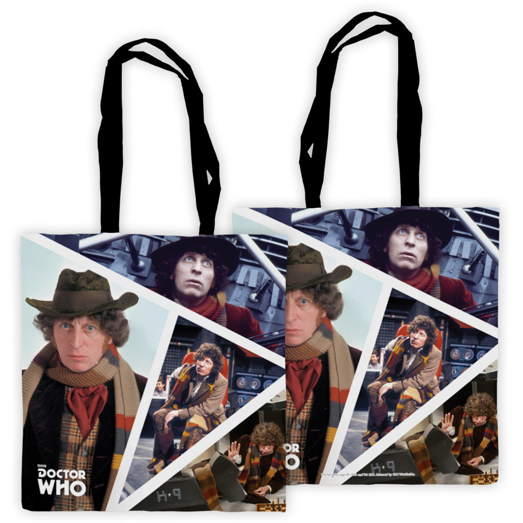 Fourth Doctor Photographic Edge to Edge Tote
