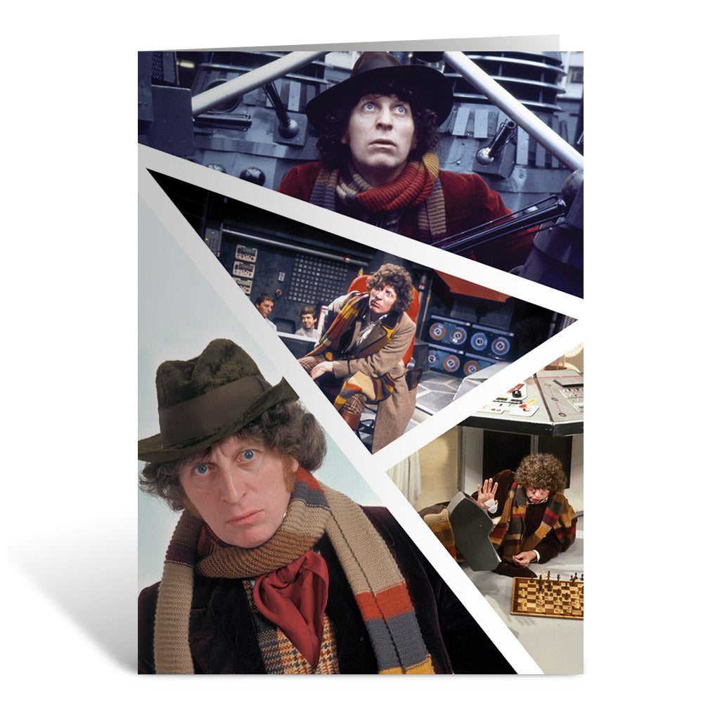 Fourth Doctor Photographic Greeting Card