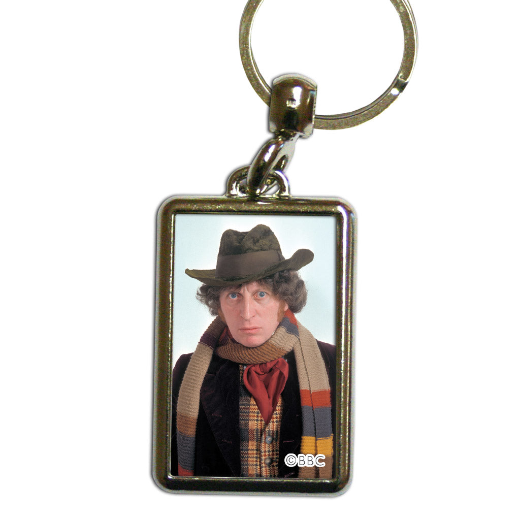 Fourth Doctor Photographic Metal Keyring