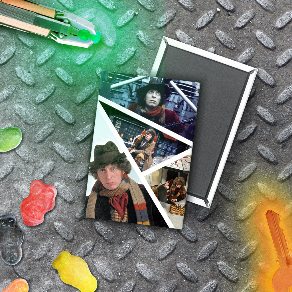 Fourth Doctor Photographic Magnet (Lifestyle)