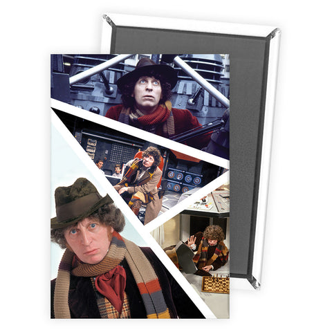 Fourth Doctor Photographic Magnet