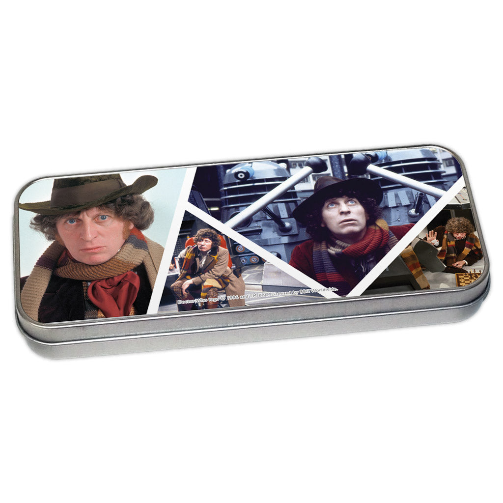 Fourth Doctor Photographic Pencil Tin
