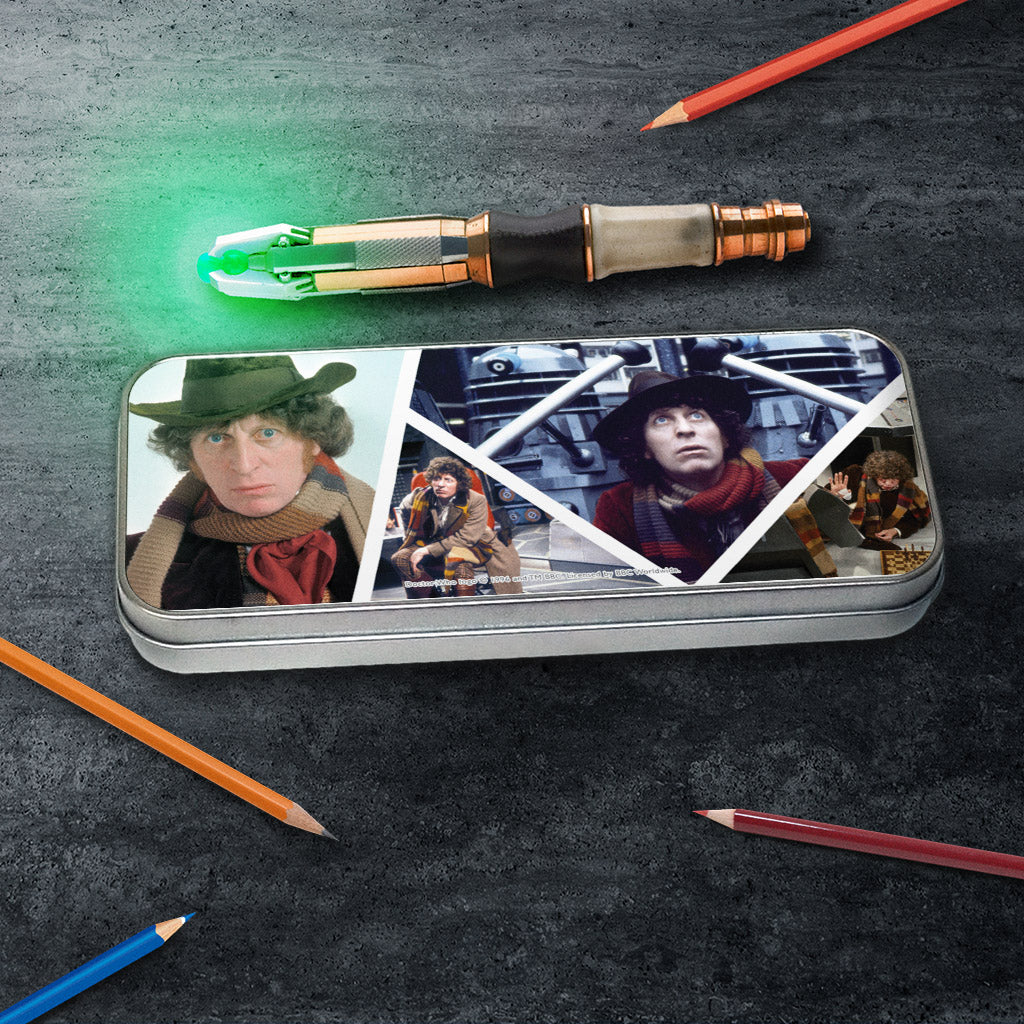 Fourth Doctor Photographic Pencil Tin (Lifestyle)